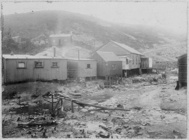 Coalmining town of Millerton, West Coast