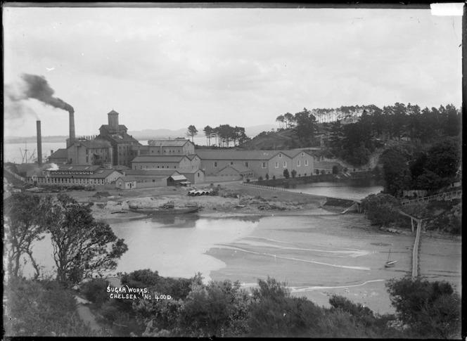 Colonial Sugar Company works at Chelsea, Birkenhead, Auckland