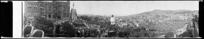 Archbishop Redwood's Episcopal Golden Jubilee, St Patrick's College, Wellington, 24 February 1924, Ref: Pan-0003
