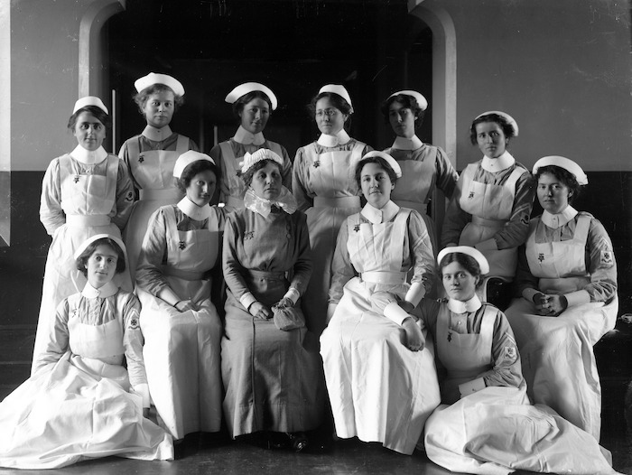 Christchurch nurses in 1913