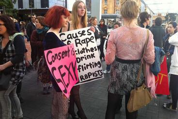Image: SlutWalks begin in Wellington and Auckland