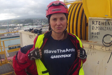 Image: Lawless, other Greenpeace activists remanded on bail