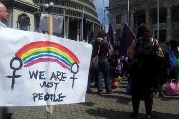 Image: Same-sex marriage legalised