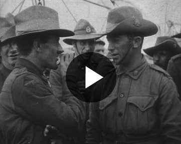 Image: Australian And New Zealand Soldiers Return Home (1919)