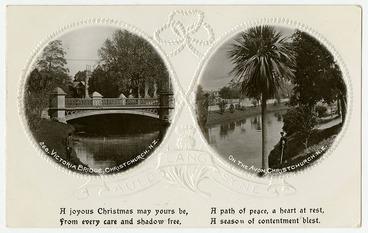 Image: Christmas Postcard, Avon Scenes