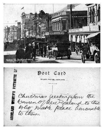 Image: Queen St, Auckland : digital post-card
