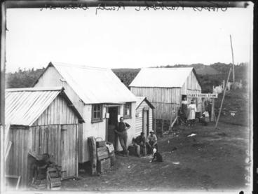 Image: Stores, Kaikohe Railway extension.