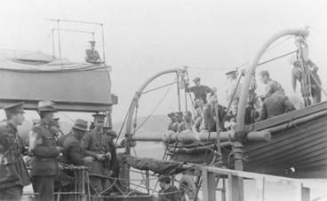 Image: Boat Drill.