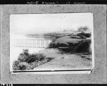 Image: Site of Mokoia Pa, Panmure Bricge