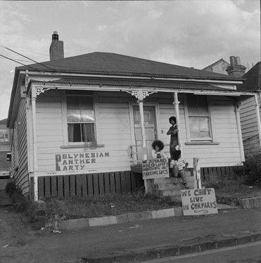 Image: Polynesian Panthers and Old House
