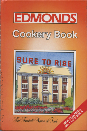 Image: Edmonds cookery book