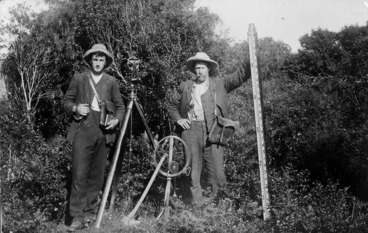 Image: Surveyors and equipment
