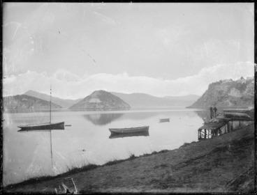 Image: Otago Harbour, including Quarantine Island, Goat Island, and Port Chalmers