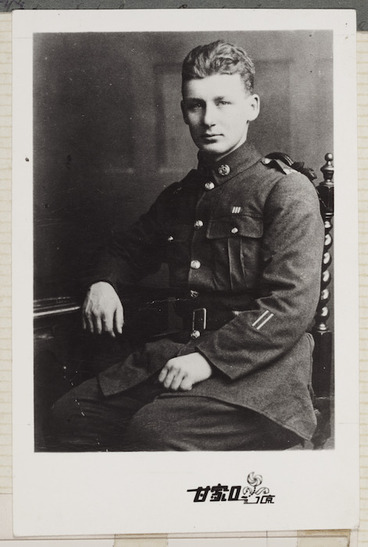 Image: Rewi Alley in military uniform