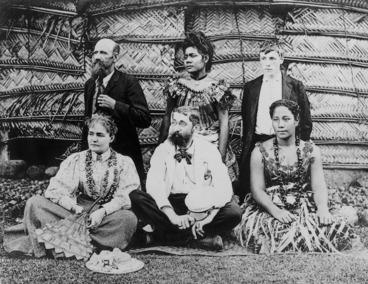 Image: Unidentified group, Samoa