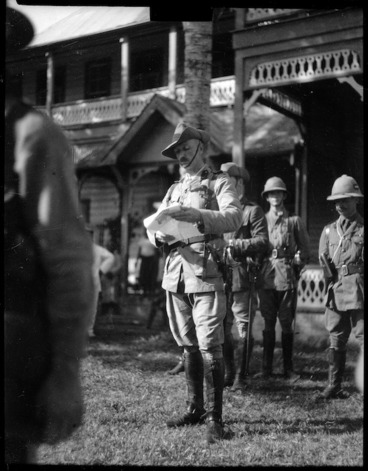 Image: Colonel Robert Logan, Apia, Samoa