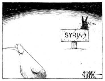 Image: Winter, Mark 1958- :Syria. 31 August 2013