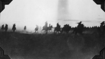 Image: Charge of the ANZAC Mounted Division, Palestine