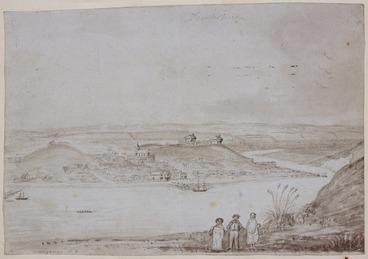 Image: [Taylor, Richard], 1805-1873 :Wanganui N. Z. [1848?]