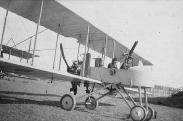 Image: Voisin bomber aircraft at Lemnos