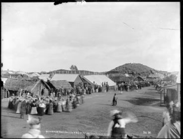 Image: Return of the ploughman prisoners, Parihaka
