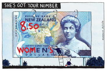 Image: Murdoch, Sharon Gay, 1960- :Pay equity. 28 December 2014