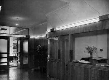 Image: Reception booth, Royal Oak Hotel, Wellington