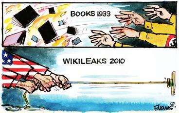 Image: Books 1933. Wikileaks 2010. 11 December 2010