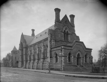 Image: Provincial Council Chambers, Christchurch