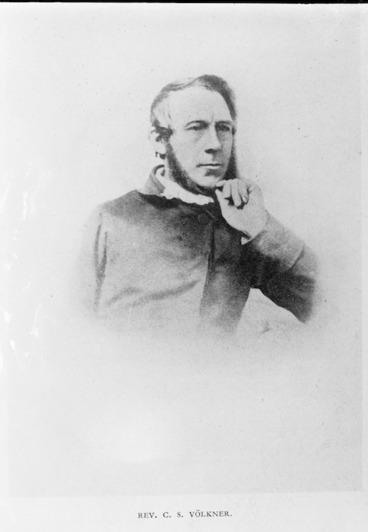 Image: Reverend Carl Sylvius Volkner