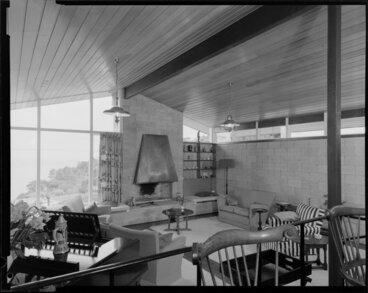 Image: King house, interior, lounge