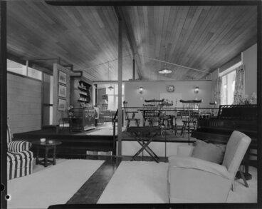 Image: King house, interior, mezzanine