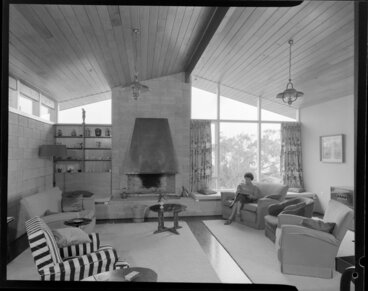 Image: King house, interior, lounge