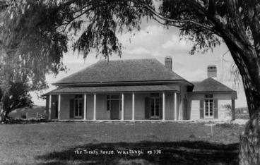 Image: The Treaty House, Waitangi