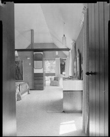 Image: Interior, bedroom, Paprill House