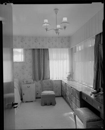 Image: Bedroom, Vautier House [Wellington?]