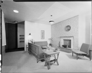 Image: House interior, living room
