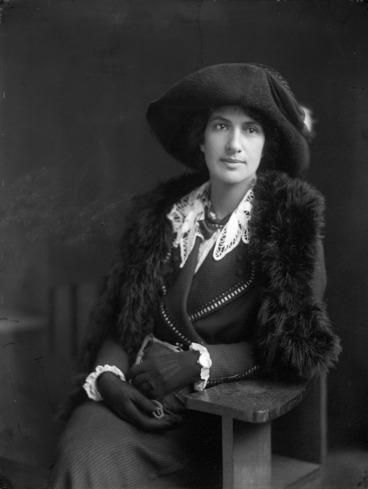 Image: Lady Mildred Amelia Tapapa Woodbine Pomare