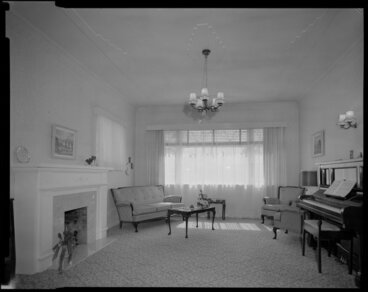 Image: Living room, Tait house