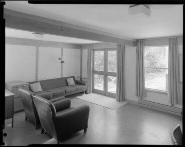 Image: Living room interior, Richardson house