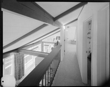 Image: Upstairs passage, Wong house
