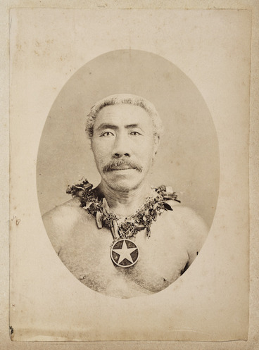 Image: Photograph of Tamasese Titimaea