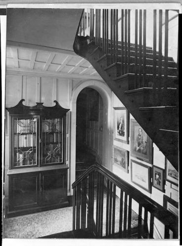 Image: Alexander Turnbull Library stairway, Bowen Street, Wellington