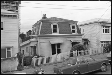 Image: House in Hill Street, Thorndon, Wellington