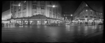 Image: Views of Manners Street looking east from James Smith's corner