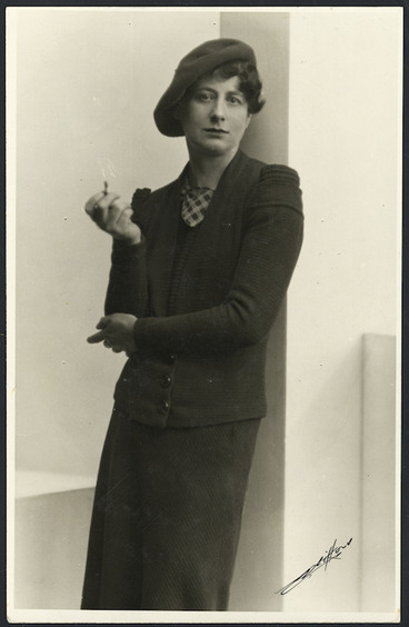 Image: Ngaio Marsh - Photograph taken by Henry Herbert Clifford