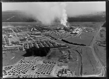 Image: Kinleith New Zealand Forest Products Ltd, [Tokoroa?]
