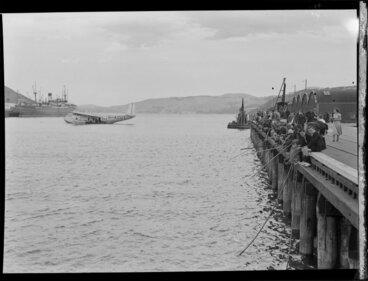Image: Flying boat, Centaurus, Dunedin Harbour
