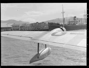 Image: Flying boat, Centaurus, Dunedin Harbour