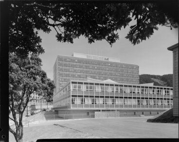 Image: Broadcasting House, Wellington, as new
